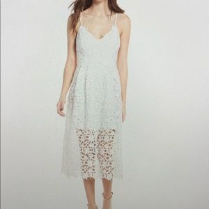 Astr white lace dress! Still available online!